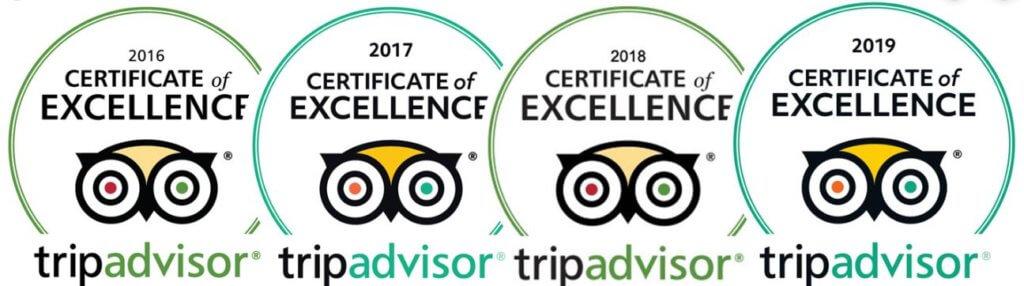 Trip Advisor 2015-2018