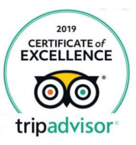 Estes Park ATV Rentals Trip Advisor Badge 2019 Certificate of Excellence